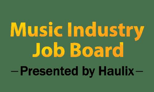 Music Industry Job Board (June 4, 2019) - Haulix Daily