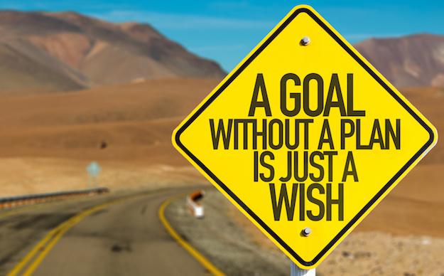 Setting Goals, Making Plans