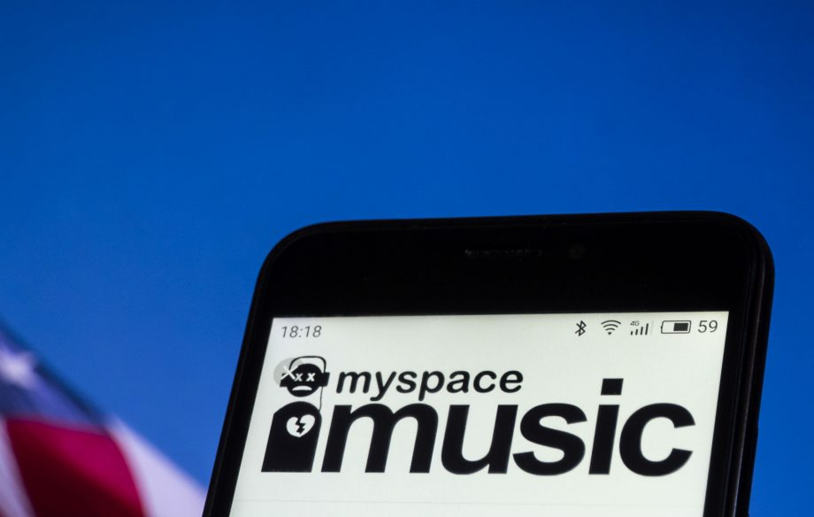 MySpace, MySpace Music, Data Loss, Lost Music, Social Media