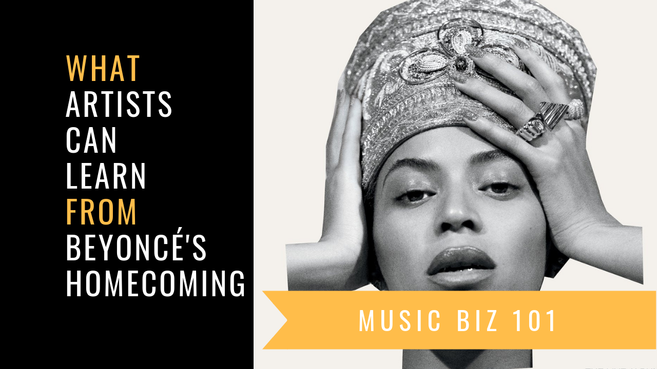 VIDEO: What artists can learn from Beyoncé's Homecoming special